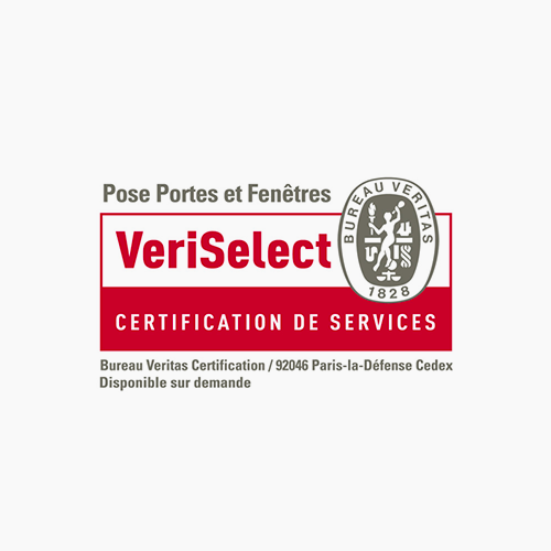 Diruy, Certification de Pose de Menuiseries VERISELECT
